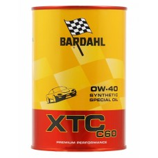 Моторное масло BARDAHL XTC C60 0W40