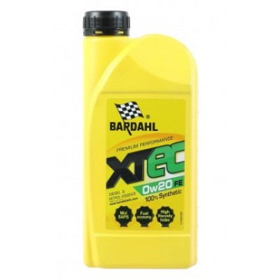 Моторное масло BARDAHL XTEC 0w20 FE