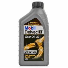 Трансмиссионная жидкость Mobil Delvac 1 Gear Oil LS 75W-90